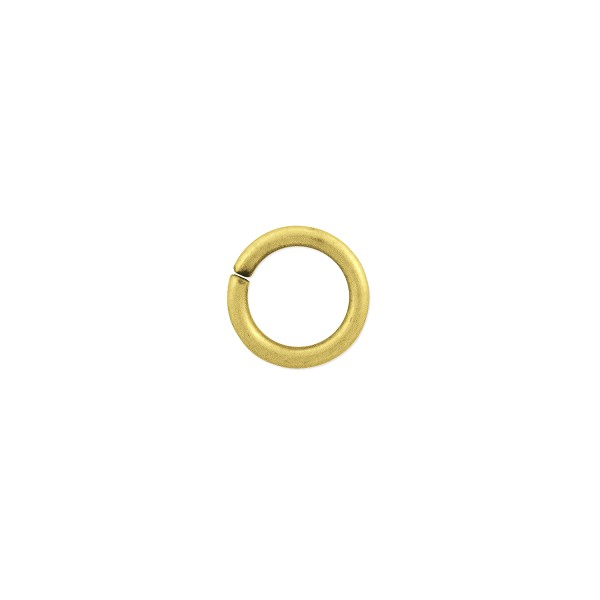 Open Round Jump Ring 5.5mm Antique Gold Plated (100-Pcs)