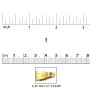 Snap On Bail 6x2mm Gold Filled (1-Pc)