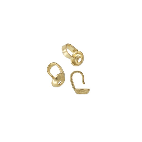 Bead Tip 3mm Cup Gold Filled (2-Pcs)