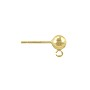Ball Post Earring 5mm Gold Filled (1-Pc)