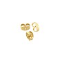 Earring Back 4x2.5mm Gold Filled (1-Pc)