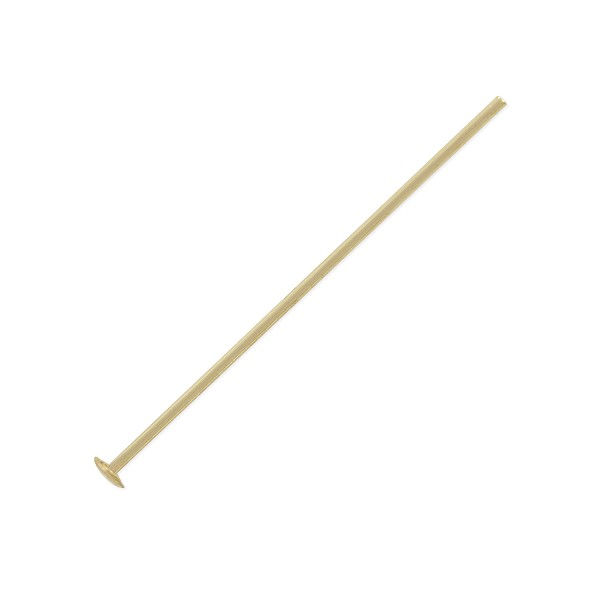 Head Pin 1 Inch 22 ga Gold Filled (1-Pc)