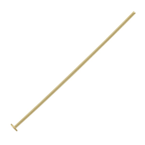 "Head Pin 1-1/2"" Gold Filled 20 Gauge (1-Pc)"