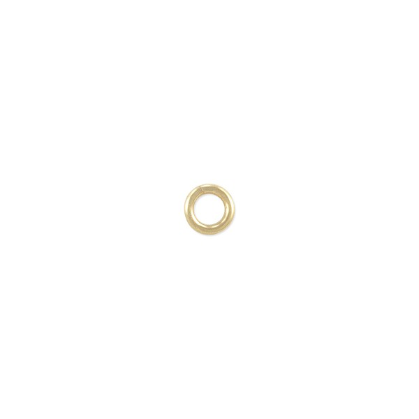 Open Jump Ring 4mm Gold Filled (4-Pcs)