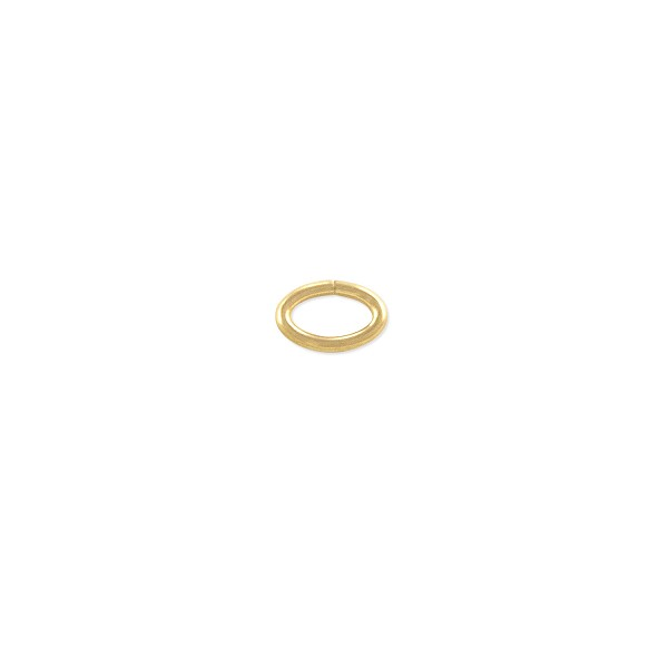 Open Oval Jump Ring 5.5x3.6mm Gold Filled (4-Pcs)