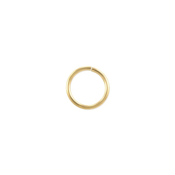 Open Round Jump Ring 8mm Gold Filled (2-Pcs)