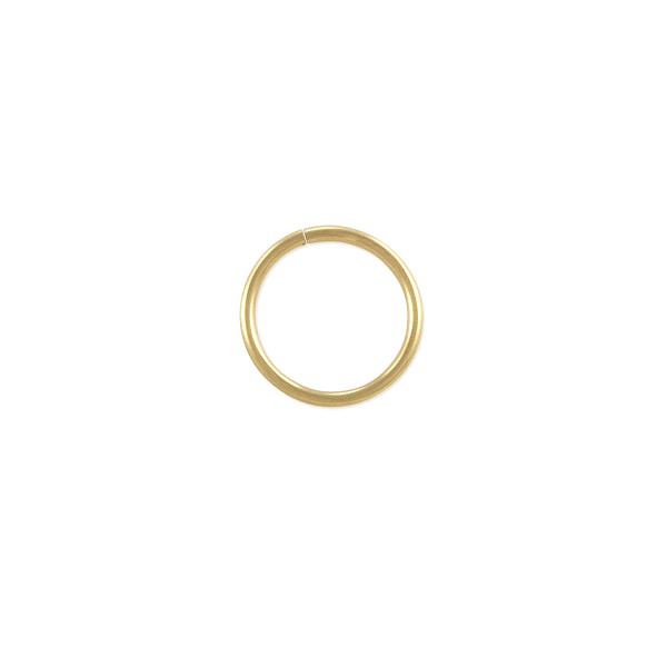 Open Round Jump Ring 9mm Gold Filled (1-Pc)