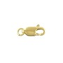 Lobster Claw Clasp 10x4mm with Open Ring Gold Filled (1-Pc)