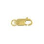Lobster Claw Clasp 12x5mm with Open Ring Gold Filled (1-Pc)