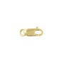 Lobster Claw Clasp 8x3mm with Open Ring Gold Filled (1-Pc)