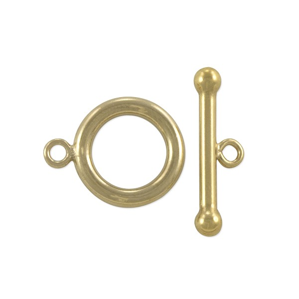 Toggle Clasp 12x18mm Gold Filled (Set)