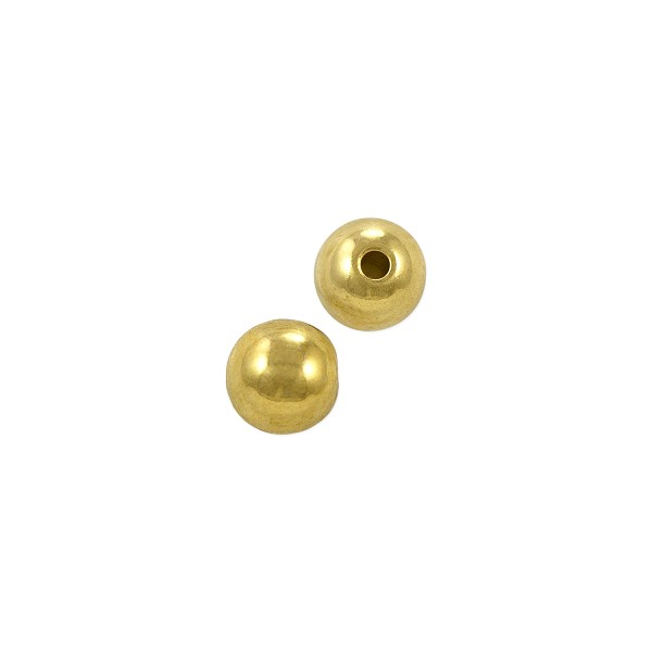Memory Wire End Cap 5mm Gold Plated (10-Pcs)