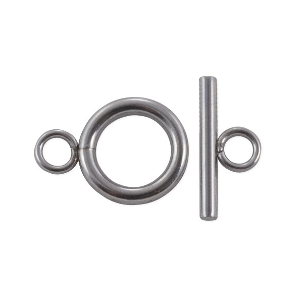 Toggle Clasp 12mm Surgical Stainless Steel (Set)