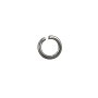 Open Jump Ring 6mm Surgical Stainless Steel (10-Pcs)