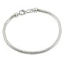 "Caprice Bracelet with Lobster Claw Clasp 7-1/2"" Sterling Silver (1-Pc)"