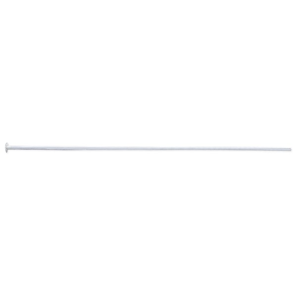Sterling Silver 2 Inch Head Pin 20 Gauge (1-Pc)
