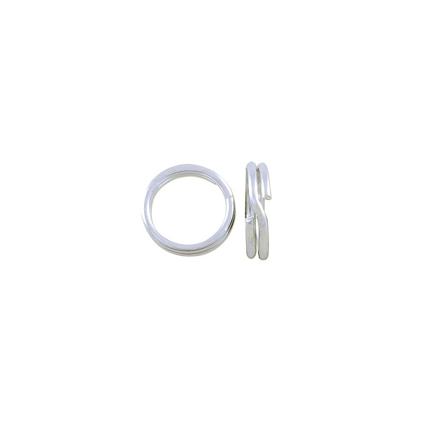 Split Ring 7mm Sterling Silver (1-Pc)
