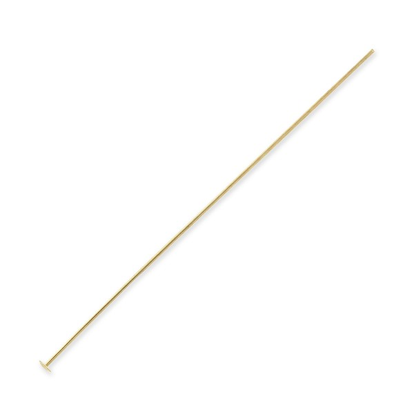 "Head Pin 2"" Gold Filled 24 Gauge (1-Pc)"