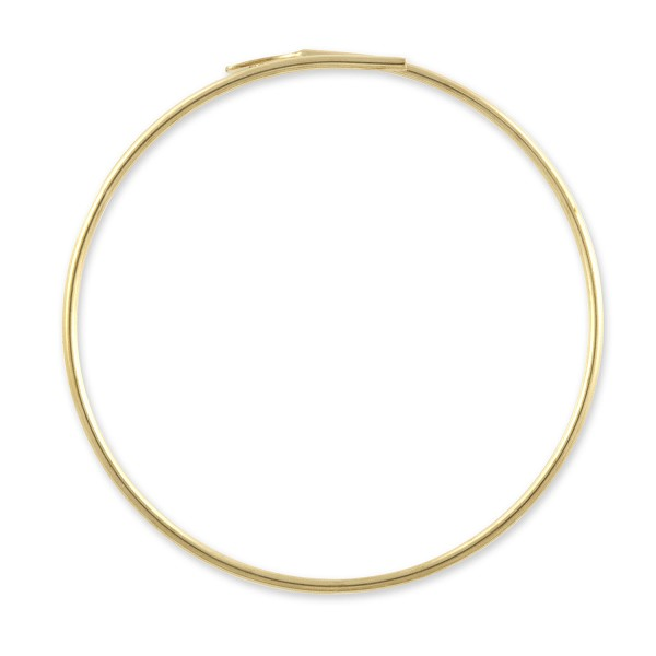 "Gold Filled Beading Hoops 1"" (1-Pc)"