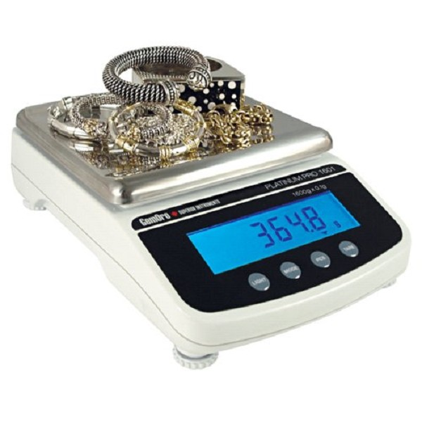 GemOro Counter-Top Gram Scale (1600 Gram)