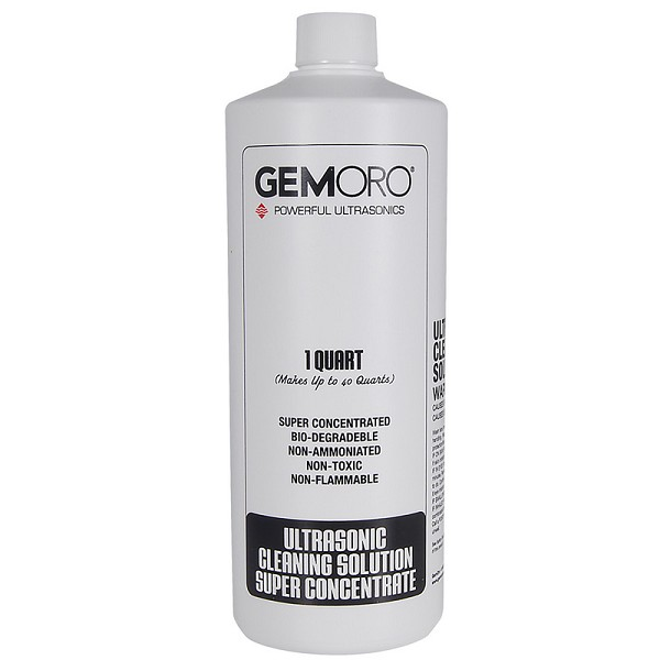 GemOro Ultrasonic Solution 1 Quart