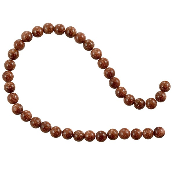 "Goldstone Beads Round 6mm (15"" Strand)"