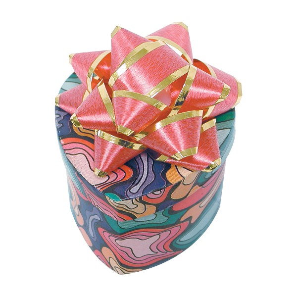 Mini Hat Boxes - Assorted Colors (48-Pcs)