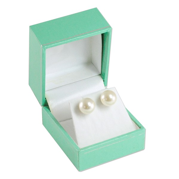 Tiffany Blue Color Stud Earring Box