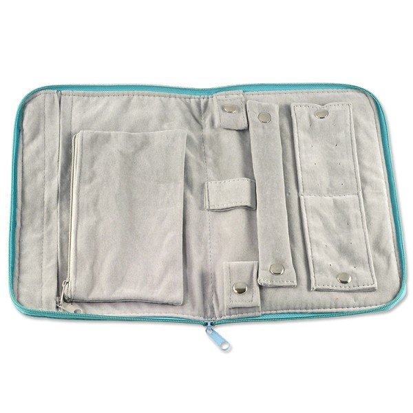Travel Jewelry Organizer Teal