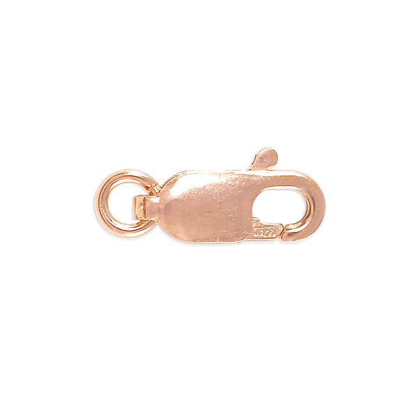 Lobster Claw Clasp - 10x4mm Rose Gold Filled (1-Pc)