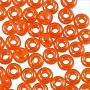 Miyuki Round Rocaille Seed Bead 8/0 Transparent Luster Orange (3 Gram Tube)