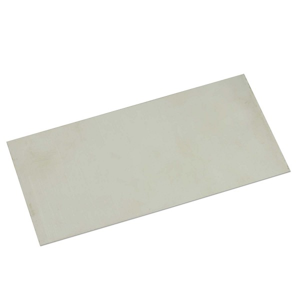 "Nickel Silver Sheet 18g 6""x3"""