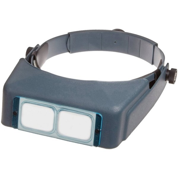 OptiVISOR Magnifier #10 (Glass Lenses)