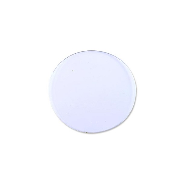 "Plastic Disc 1/2"" Clear (100-Pcs)"