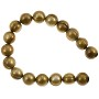 "Freshwater Potato Pearl Antique Gold 8-9mm (16"" Strand)"
