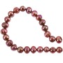 "Freshwater Potato Pearl Antique Rose 8-9mm (16"" Strand)"