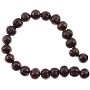 "Freshwater Potato Pearls Chocolate 8-9mm (16"" Strand)"