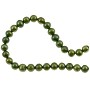 "Freshwater Potato Pearl Cool Green 6-7mm (16"" Strand)"