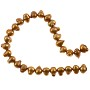 "Freshwater Potato Pearls Copper Mix 5-6mm (16"" Strand)"