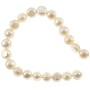 "Freshwater Potato Pearl Creme Irregular 6-7mm (16"" Strand)"