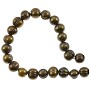 "Freshwater Potato Pearl Dark Bronze Mix 7-8mm (16"" Strand)"