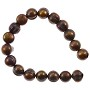 "Freshwater Potato Pearl Dark Antique Copper Mix 8-9mm (16"" Strand)"