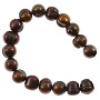 "Freshwater Potato Pearl Dark Antique Copper Mix 9-10mm (16"" Strand)"