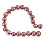 "Freshwater Potato Pearl Dusty Rose 8-9mm (16"" Strand)"