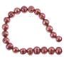 "Freshwater Potato Pearl Dusty Rose 9-10mm (16"" Strand)"
