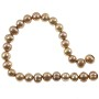 "Freshwater Potato Pearl French Mocha 6-7mm (16"" Strand)"
