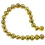 "Freshwater Potato Pearls Gold 7-8mm (16"" Strand)"