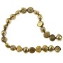"Freshwater Potato Pearl Gold Nugget 7-8mm (16"" Strand)"