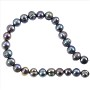 "Freshwater Potato Pearl Peacock Grey 7-8mm (16"" Strand)"