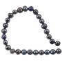 "Freshwater Potato Pearls Silver Grey Mix 5-6mm (16"" Strand)"